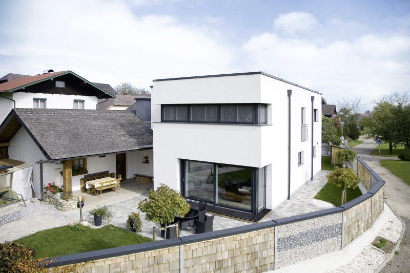 Pasivní dům a orientace oken