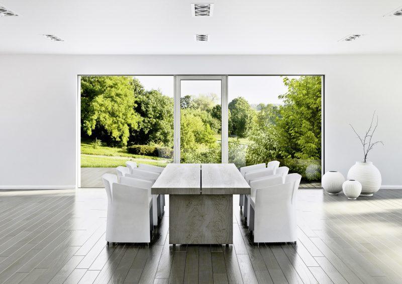 Interiér s okny Internorm