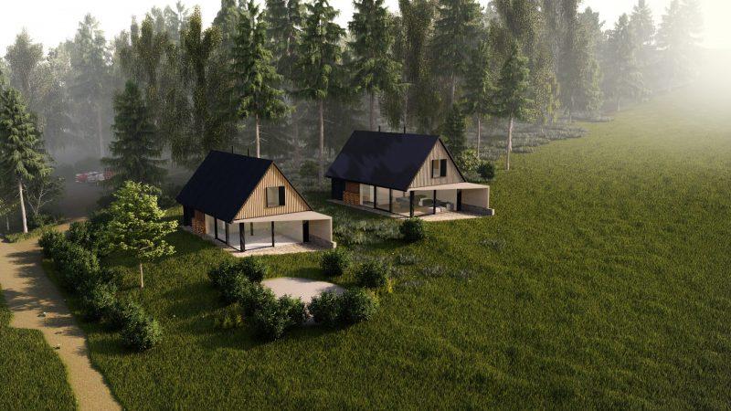 První český soběstačný dům