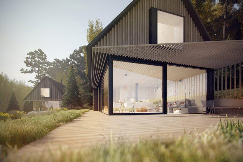 Pasivní, energeticky soběstačný dům