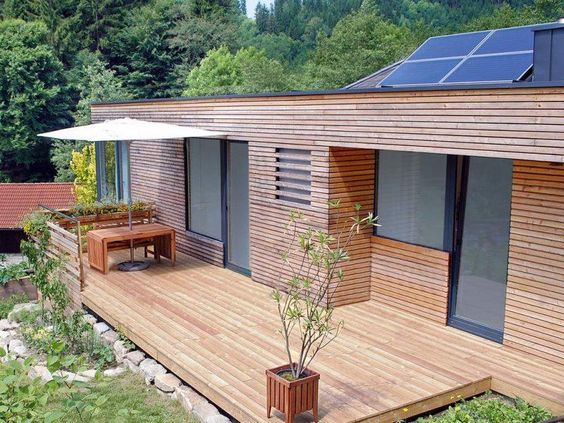 Fotovoltaické panely na střeše pasivního domu