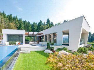 Zahrada v moderním stylu