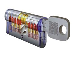 Bezpečnostní klíč s cylindrickou vložkou