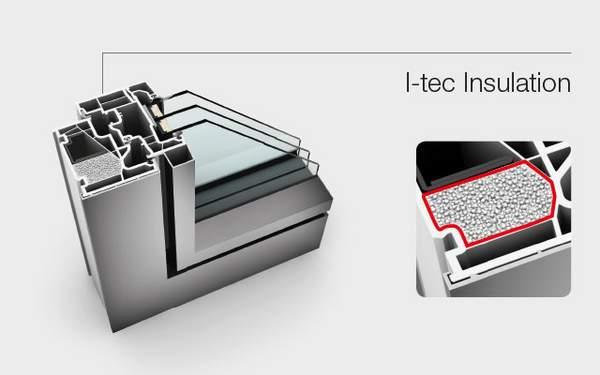 Technologie I-tec Insulation